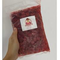 Raspberry Beku - Frozen Raspberry Moms Kitchen Asli Lembang 500 gram