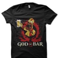 Kaos 1749 Homer Simpson Half Black T-Shirt