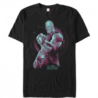 Baju Kaos Marvel Avengers: Infinity War Thanos Galaxy T-Shirt