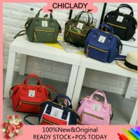 3 WAY MINI BAG Japan Mini Boston Sling Bag Backpack