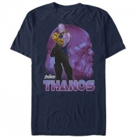 Baju Kaos Marvel Avengers: Infinity War Thanos View T-Shirt