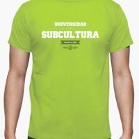 Kaos University Of Subculture (Green Alien) T-Shirt