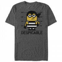 Baju Kaos Despicable Me 3 Minions Jailhouse T-Shirt