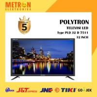 POLYTRON TV LED 32 INC PLD32D7511 USB MOVIE/PLD32D7511