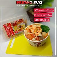 BABANG SUKI TOMYUM SOUP & CHICKEN SOUP FROZEN FOOD BOX PREMIUM