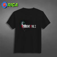 Kaos Premium - Resident Evil 2 - ORIGA 0428 - Movie - Hitam, S