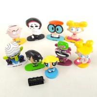 Dexter Laboratory Baby Einstein Power Puff Girls Cartoon Mainan Anak