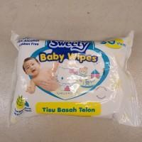New Product Sweety Baby Wipes Telon tissue basah Telon