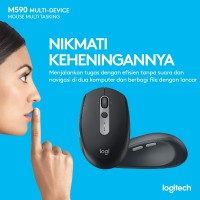 LOGITECH MOUSE WIRELESS M590 / MOUSE BLUETOOTH M 590 SILENT