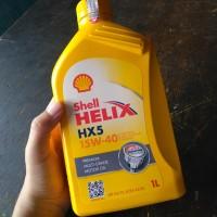 shell helix hx5 15w-40 1L hati hati oli palsu