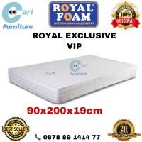 Kasur Busa Royal Foam Exclusive VIP 90x200x19 cm Garansi 20 Tahun