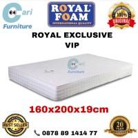 Kasur Busa Royal Foam Exclusive VIP 160x200x19 cm Garansi 20 Tahun