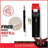 Pen Cutter SDI 0491 + Refill 10pcs