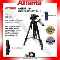 Tripod ATTanta Kaiser 234 for Camera/HP + HP Holder + Tas Tripod