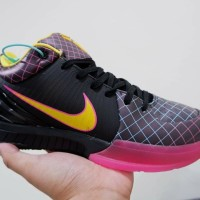 Sepatu Basket nike Kobe 4 Protro Low Black Pink