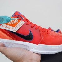 Sepatu Basket nike Kobe 4 Protro Low Team Orange