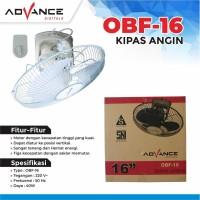 Orbit Fan Advance OBF-16 / Kipas Angin Orbit 16 inch / Auto fan 16