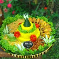 Tumpeng Jogja Nasi Kuning / Nasi Uduk / Tumpeng Tampah