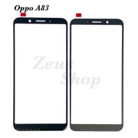 GLASS - KACA LCD TOUCHSCREEN TS ONLY OPPO A83 - OPPO A 83 - Hitam, Plus Oca