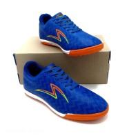sepatu futsal specs sepatu futsal murah sepatu futsal sepatu olahraga - hitam oren, 39