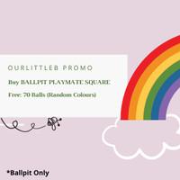 BALLPIT KOTAK Handmade Premium - Kolam Mandi Bola Mainan Anak