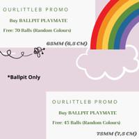 BALLPIT Handmade Premium - Kolam Bola Mandi Mainan Anak
