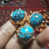 Cincin Batu akik Pirus SanJhiang