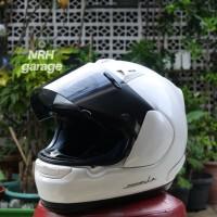 Helm Second Arai Profile Max Vision White Solid Not agv, nolan, shoei