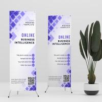 Cetak X Banner / Y Banner Bahan Flexy China 60x160 cm