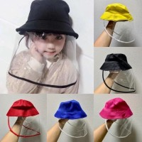 topi faceshield bayi batita anak anak lucu anti droplet