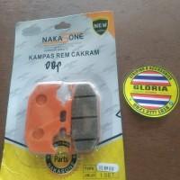 Dispad Kampas Rem Belakang R15 V3 New Nakasone