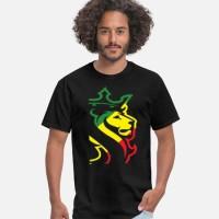Kaos OGABEL OG ABEL BIG LION RASTA JAMAICAN WEED HYPE D T-Shirt
