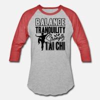 Kaos Balance Strength Tai Chi Shirt T-Shirt
