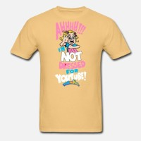 Kaos AHH! Not Dressed For Youtube T-Shirt