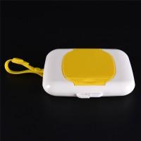 Kotak Dispenser Tissue Basah Bayi/Anak Bahan Jelly Untuk Travel