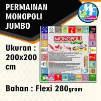 Permainan Monopoli Jumbo Ukuran 200 x 200 cm