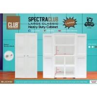 JTR - LEMARI PLASTIK CLUB SPECTRA LARGE FULL WHITE PUTIH Murah