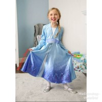 Kostum Anak Frozen 2 Murah Baju Elsa Hadiah Kado Anak Princess Dress