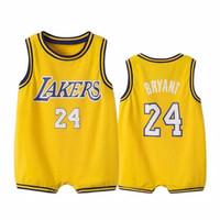baju bayi jumper basket anak lakers 24 bryant