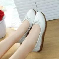 Sepatu Wanita Flat Shoes Murah Kulit Teplek Bld0808 Kualitas Terbaik