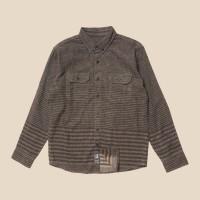Kemeja Flanel Lengan Panjang Monochrome LS Flanel Waisplan Shirt