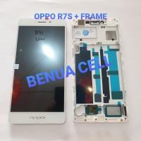 LCD 1SET OPPO R7S ORIGINAL WHITE