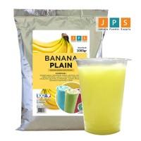 Bubuk Minuman Pisang/Banana Plain Powder JPS Tanpa Gula