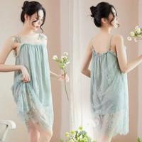 Sexy Lingerie Murah Baju Tidur Wanita TA0636 Hijau bisa untuk Big Size