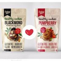 Blackmond Cookies Ladang Lima ORGANIK- SNACK Rendah Kalori-DIET 180GR