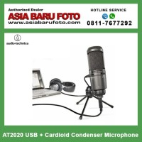 Audio Technica AT2020 USB + Cardioid Condenser Microphone