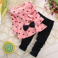 Baju Setelan Anak Perempuan/St Love Kids 2-3 tahun allsize