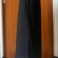 rok bahan pola A pinggang karet rok kantor rok kerja rok formal