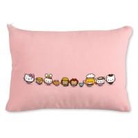 Bantal sofa persegi panjang cover hello kitty ( ukuran 43 * 30 cm )