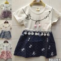Dress Pakaian Baju Bayi Baby Perempuan Import